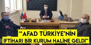 """""""AFAD Türkiye'nin İftiharı Bir Kurum Haline Geldi"""""""