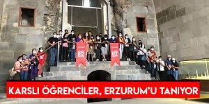 Karslı Öğrenciler, Erzurum'u Tanıyor