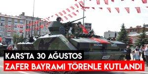Kars'ta 30 Ağustos Zafer Bayramı Törenle Kutlandı