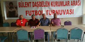 Kars'ta Bülent Daşdelen Kurumlararası Futbol Turnuvası başlıyor