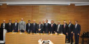 Kars'a kurulacak Lojistik Merkez için imza töreni gerçekleşti