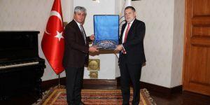 Vali Doğan Rusya'nın Trabzon Başkonsolosunu kabul etti