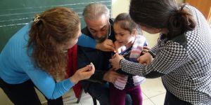 Kars'ta Çocukların iğne korkusu