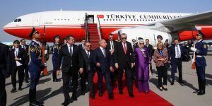 Cumhurbaşkanı Erdoğan, Azerbaycan'da