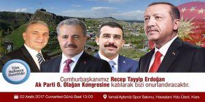 AK Parti 6. Olağan Kars İl Kongresi