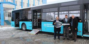 Kafkas Üniversitesi araç filosunu genişletiyor