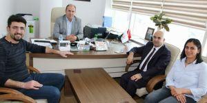 Başkan Altun, hastaneyi ziyaret etti