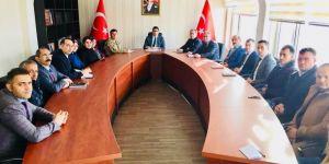 Susuz'da okul güvenliği toplantısı yapıldı