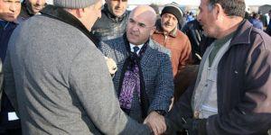 Başkan Altun, Hayvan Pazarı'nda