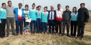 Karslı atletler Mersin'de Türkiye Şampiyonu oldu