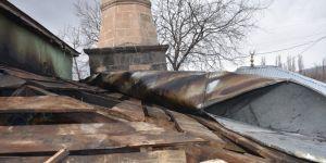 Kars'ta Cami'de Yangın Çıktı