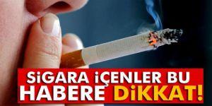 Sigara içenler bu uyarılara dikkat