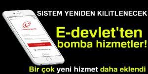 E-devlet'ten Bomba Hizmetler