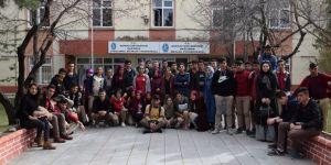 Lise Öğrencilerinden Üniversiteye Ziyaret