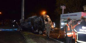 Iğdır'da feci kaza: 17 Kişi Yanarak Can Verdi