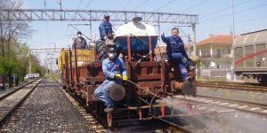 DDY Kars'ta demiryolu hattında ilaçlama yapacak