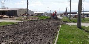 Kars'ta, Sanayi Sitesi'ne Yol ve Sosyal Tesisler Yapılıyor