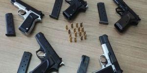 Kars'ta bir kişi 5 tabancayla yakalandı