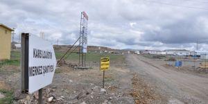 Kars Lojistik Merkez'de çalışmalar aralıksız devam ediyor