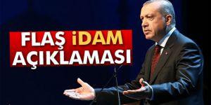 """Cumhurbaşkanı Erdoğan'dan """"idam İsteriz"""" Sloganına Cevap"""