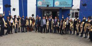 Köy okulunun başarılı öğrencileri ödüllendirildi