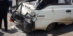 Kars'ta Trafik Kazası 1 Yaralı