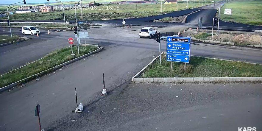 Kars'taki Trafik Kazaları Mobesede!